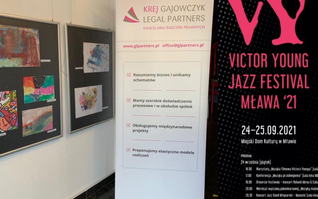 Kancelaria współpracuje przy Victor Young Jazz Festival '21